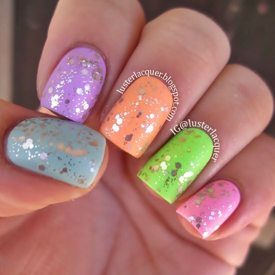 Luster Lacquer: Neon & Glitter....what else is there?