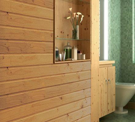 Revestimiento de madera en muros bajosba os - Revestimientos madera para paredes interiores ...