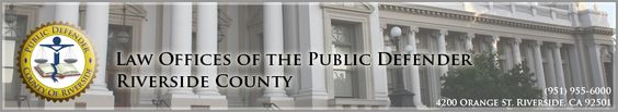 The Public Defender of Riverside County has a relief program that This program is designed to give you information about the various types of post-conviction relief available and about the process to clear your record.