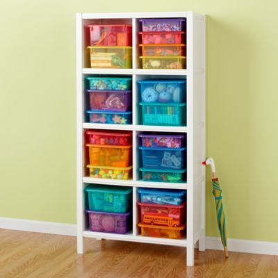 Theyu0027ll fit stacked in the Ikea bookshelf. Kidsu0027 Storage Containers: Kids  ...