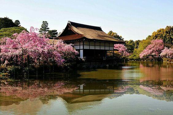 Haian Shrine, Kyoto, Japan