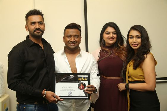 Celebritiy Fashion Choreographer Karun Raman Announcement Press Meet