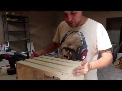 Como fazer um caixote de feira - YouTube