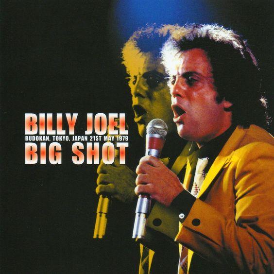 Billy Joel – Big Shot (single cover art)