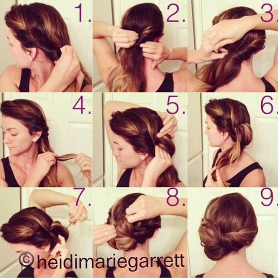 Swell 32 Amazing And Easy Hairstyles Tutorials For Hot Summer Days Short Hairstyles Gunalazisus