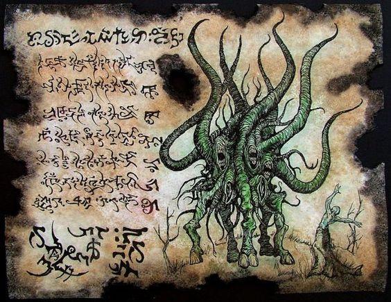 El Necronomicón,un libro salido de los infiernos 154647d203dbb632adfdc64d46e7a326