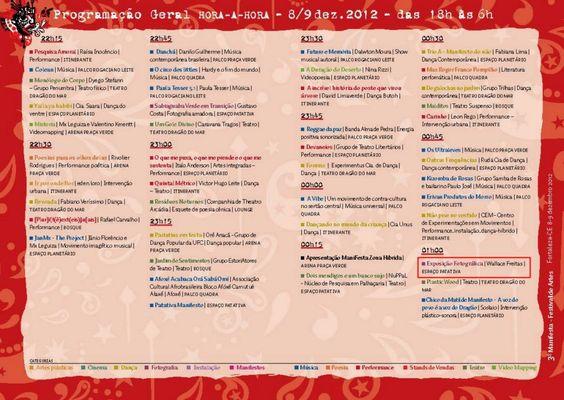 Exposição fotográfica no III ManiFesta! Festival de Artes