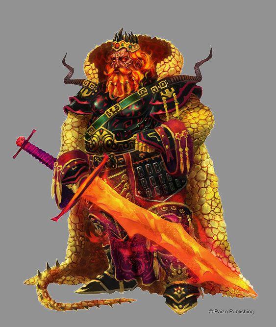 Fire Giant King by orangus.deviantart.com on @DeviantArt