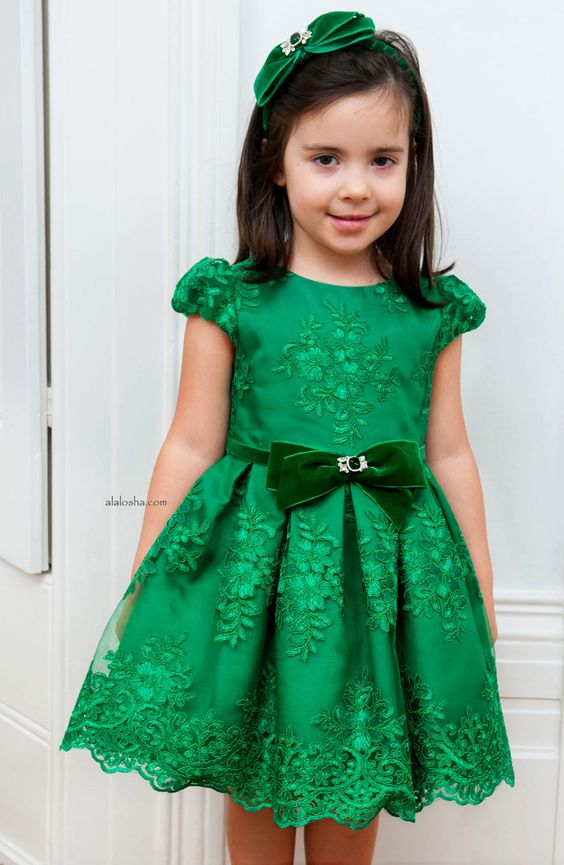 ALALOSHA: VOGUE ENFANTS: Your special girl will go crazy for these dresses from David Charles AW'15