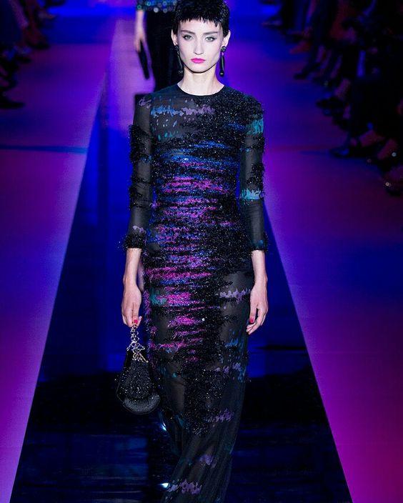 Armani Prive @armani #ConGuantesySombrero   #fashion #look #style #collections #designers #instagood