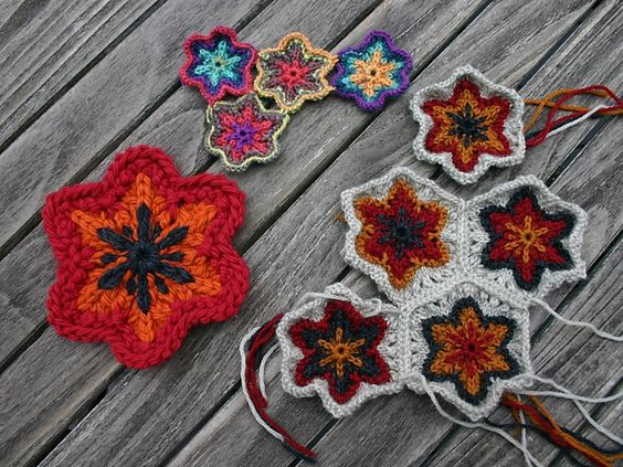 Ravelry: Woolly Lilies pattern by Mary Ann Stephens