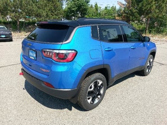 2018 Jeep Compass Trailhawk 4x4 Sport Utility Laser Blue Pearlcoat For Sale In Billings Mt Stock Jt424155