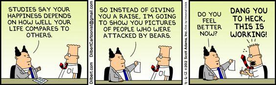 Dilbert on relative deprivation