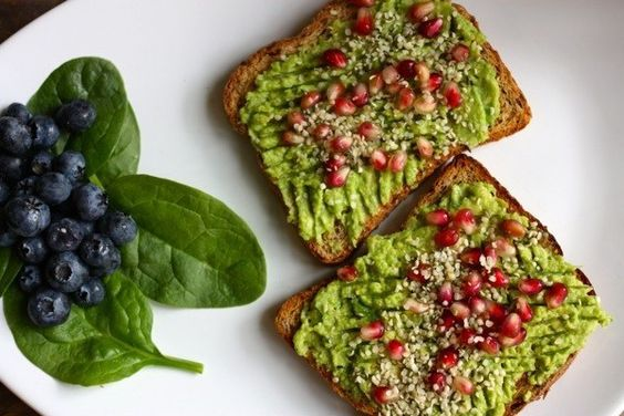 Avocado Superfood Breakfast Toast | 29 Ways To Eat Vegetables That Are Actually Delicious