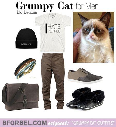 BforBel Originals: Grumpy Cat Outfits! #memes #style #sweater #fashion #menFashion #guysFashion