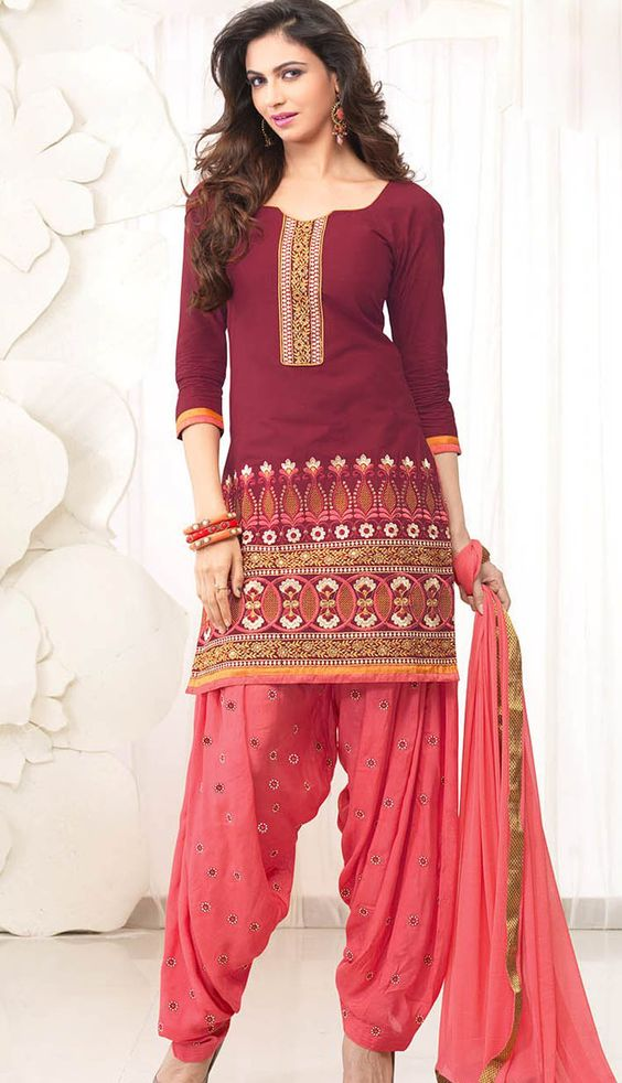 online Salwar Kameez Casual Wear Suits - 10095 | Mummy | Pinterest
