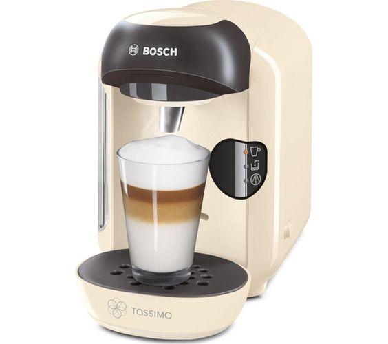 BOSCH Tassimo Vivy II TAS1257GB Hot Drinks Machine - Cream: