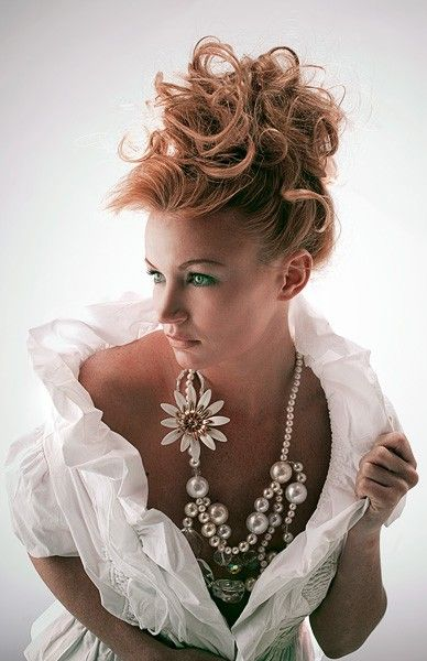 "vintage jewlery - just love the ""over the top"" look of this."
