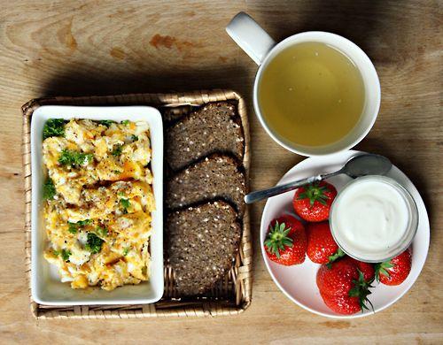 oooo yummy breakfast!