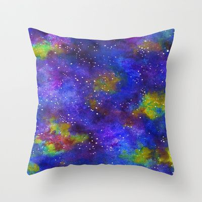 Lightyears Throw Pillow by Erin Jordan - $20.00