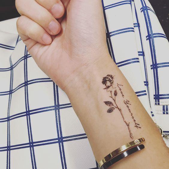 Wrist Temporary Tattoos Tood