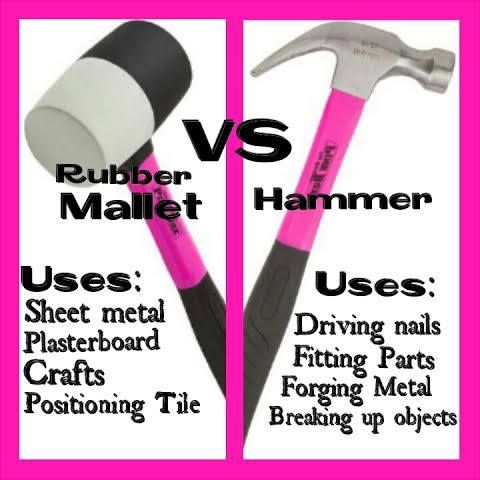 PINK Hammers and Mallets are available at http://theoriginalpinkbox.com/