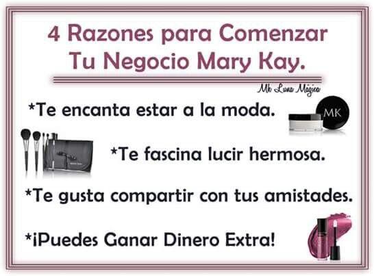 Decídete a formar parte de esta prestigiosa empresa,  contactame y te explico  Damaris Gil Consultora de Belleza Mary Kay
