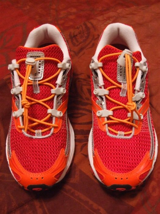 I reviewed Speed Laces on the Run Diva blog: http://www.rundiva.net/2009/08/speed-laces-advanced-shoe-lacing-system.html.