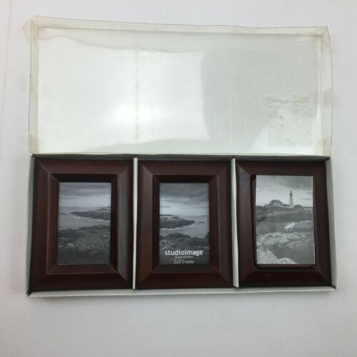Studio Silversmiths Image Photo Picture 2x3 Frames Set Of 3 Brown Wood Stand Frames Ebay Link In 2020 Frame Frame Set Wood Stand