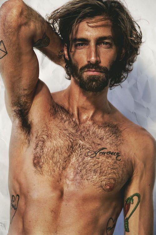Maximiliano Patane By Franck Glenisson Model Long Hair Styles Men Perfect Eyebrows