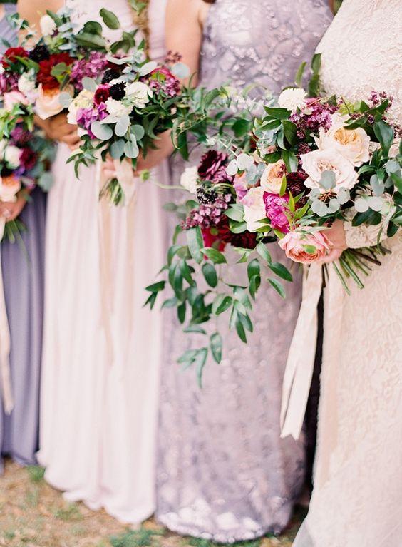 Sarah Beth & Chris // Louisiana Wedding // Donna Morgan Collection // Bridesmaid Dresses in Mix & Match  // Marissa Lambert Photography //