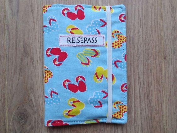 Reisepasshülle von buntesGlück auf DaWanda.com