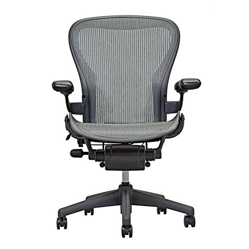 Herman Miller Aeron Classic Office Chair Gray Color Basic Model For Conference Room Open Box Office Chair Aeron Office Chair Aeron