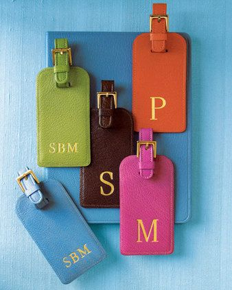 fun for luggage, daily tote, gym bag or book mark. #monogram ...