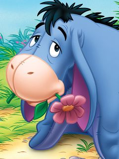 18 best Eeyore images on Pinterest  Pooh bear Friends and