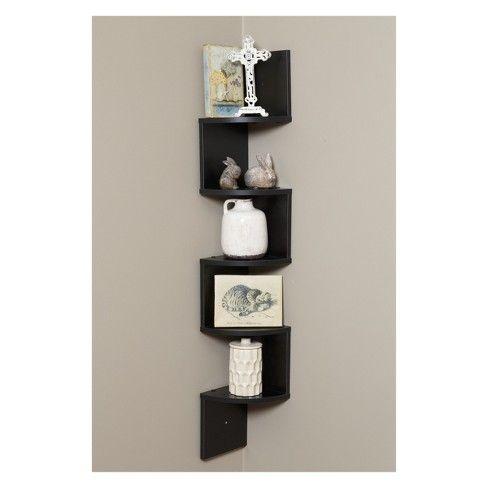 Onespace Large Corner Wall Mount Shelf Wall Mounted Shelves