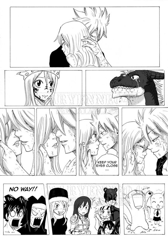 FT NFL - Chap 2 - Page 17 by Maryenne042.deviantart.com on @deviantART<<< OMG, WHY DIDNT THIS HAPPEN IN THE MANGA. IT WOULD HAVE BEEN SO CANON. AND THE OTHER GUYS REACTION. XD