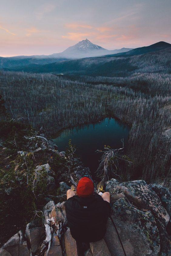 Envies de voyage Montagne Voyageur Traveler Mountain Alaska