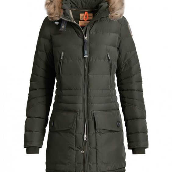 MEIN KONTOSHOPWARENKORB Startseite / Shop / DAMEN JACKEN / HIGH FILL POWER / Parajumpers CRYSTAL Parka Damen – BUSCHGRÜN parajum