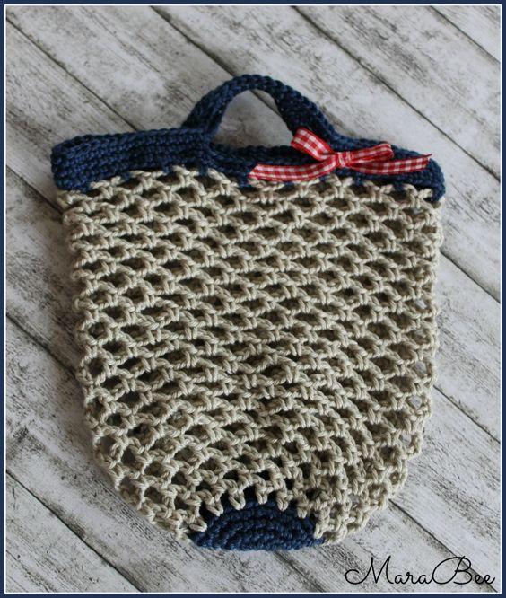 einkaufsnetz f r kinder h keln crochet pinterest. Black Bedroom Furniture Sets. Home Design Ideas