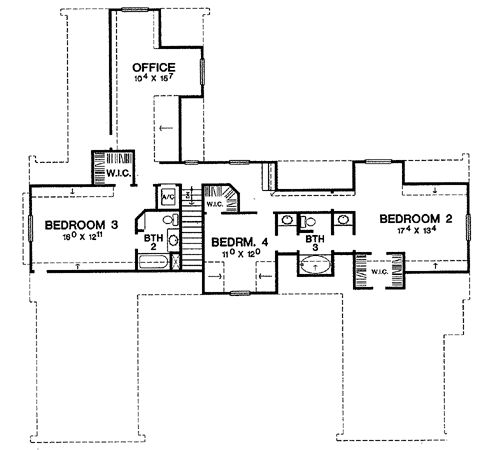 The Cape Dutch House Plan 3682 House Plan Dreaming