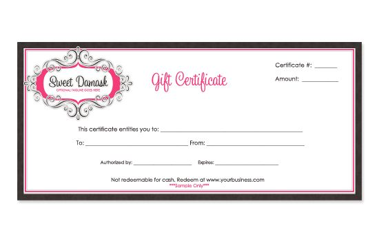 Gift Certificate Templates gift ideas Pinterest Gift - gift card template