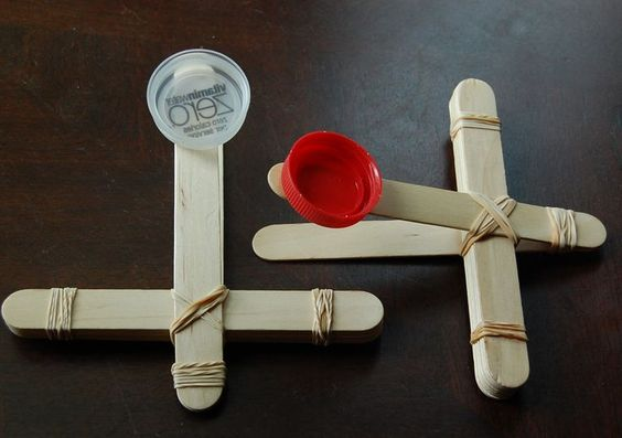 Catapult Science Crafts And Crafts For Kids On Pinterest