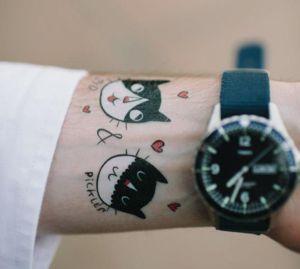 temp tattoos