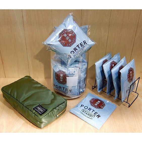 """Good Evening. Today we would like to introduce the SARUTAHIKO COFEE×PORTER original drip bag which has been receiving favorable reviews since the store opening. """"Sarutahiko Coffee"""" who serves speci"""