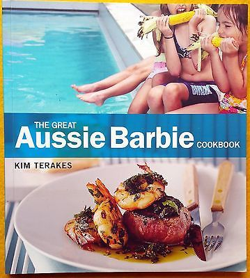 The Great Aussie Barbie Cookbook by Kim Terakes FREE AUS POST used paperback
