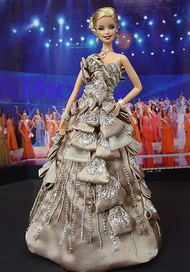 OOAK Barbie NiniMomo's Miss Poland 2009: