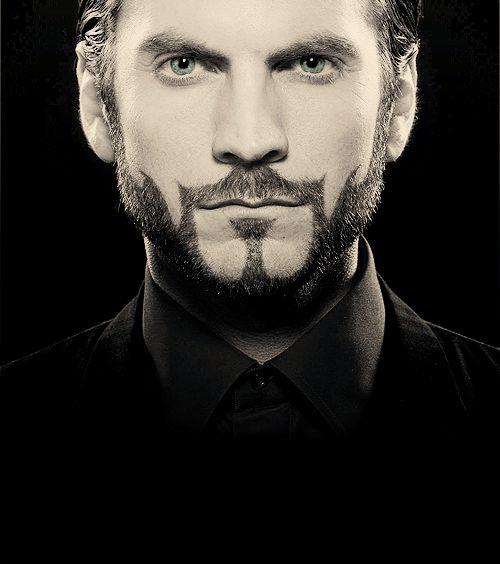 Seneca Crane. Love his beard.
