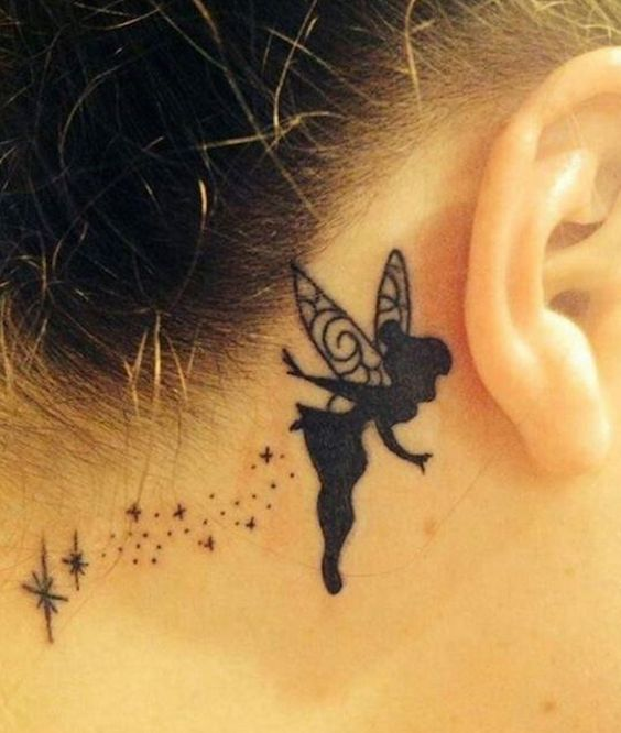 25 Subtle Behind-The-Ear Tattoos That Are Absolutely Perfect ...
