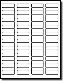 Amazon.com: 8,000 Blank White Printable File Folder Guide Tab ...